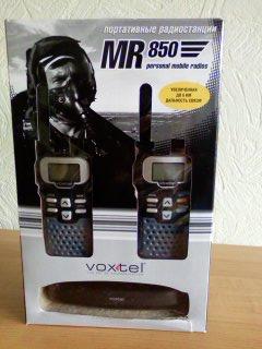 Voxtel MR850 - инструкция на русском языке